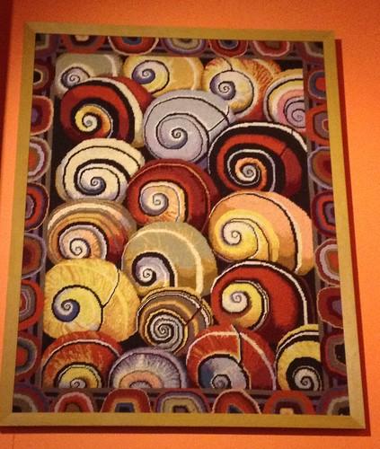 Kaffe Shell Tapestry