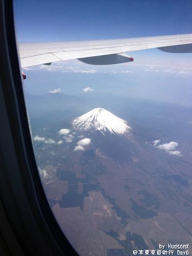 飛機上看見富士山(1)