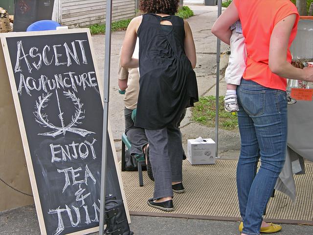 Judson Street Fest 2013 Ascent Acupuncture