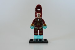 LEGO Marvel Super Heroes Iron Man: Malibu Mansion Attack (76007) - Iron Man Mark 42 (MK XLII)