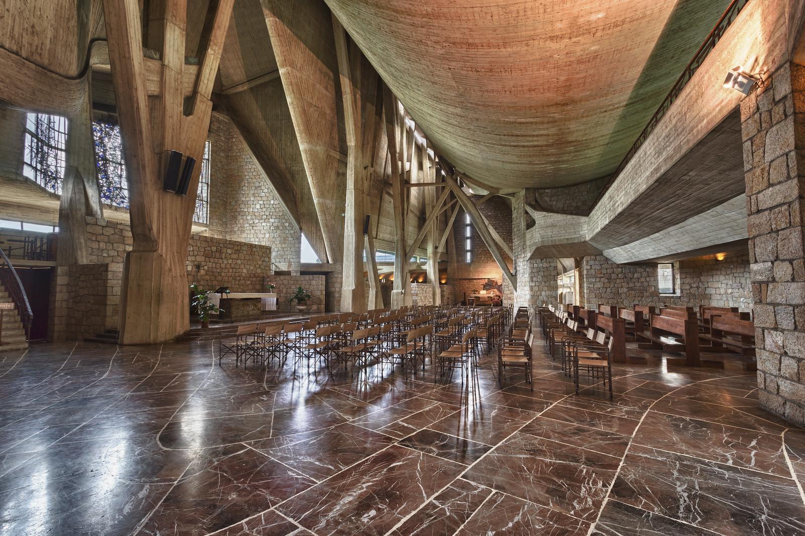 Chiesa dell'Autostrada del Sole, near Florence [1600x1067]