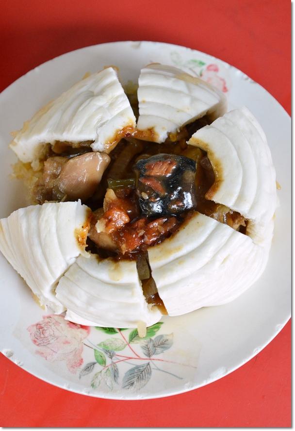Chicken Nest Bun - Gai Woh Bao