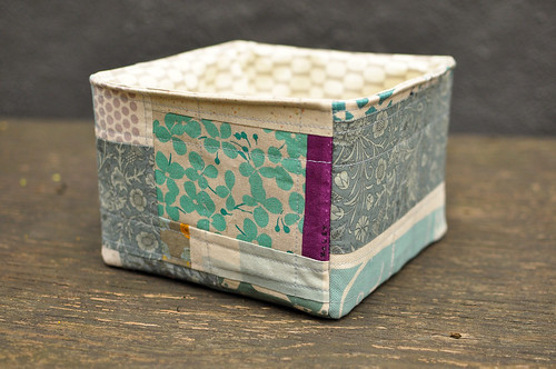 Karyn's Quilted Storage Box