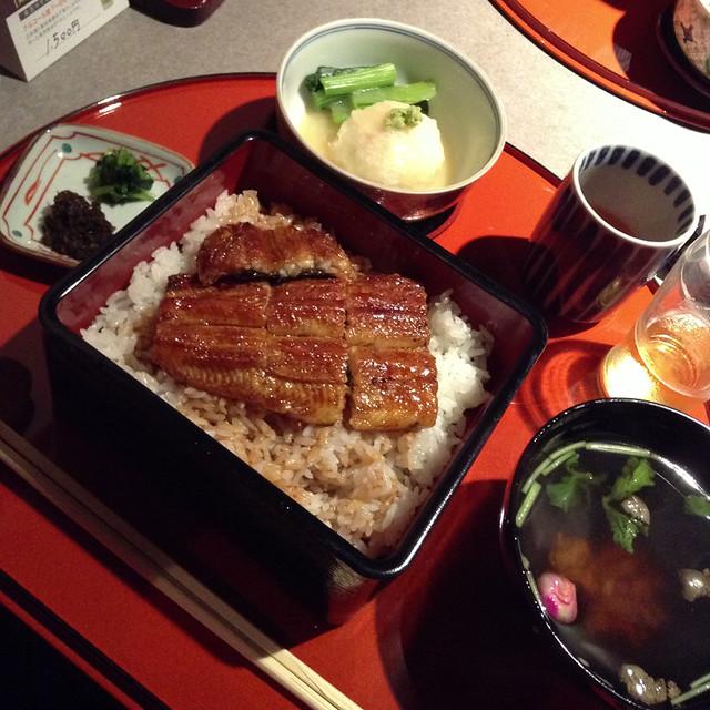 kyoto-style unagi. better than tokyo-style.