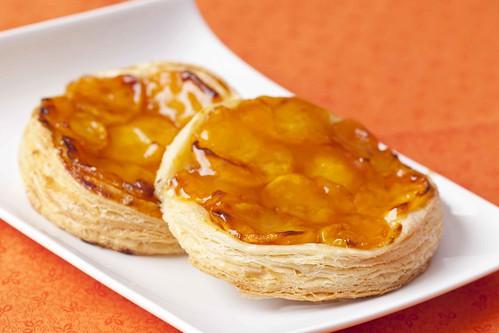 Pastissets de fulls amb albercoc 1