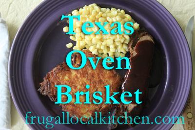 Texas Oven Brisket