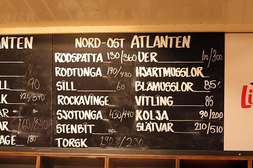 Lisa Elmqvist menu