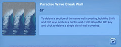 Paradise Wave Break Wall