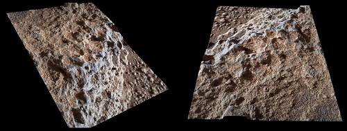 Curiosity sol 324 MAHLI 3D