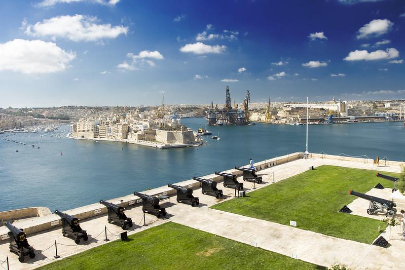 Saluting Battery - Valletta / Malta