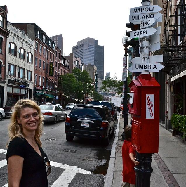 North End Boston - Italian neighborhood