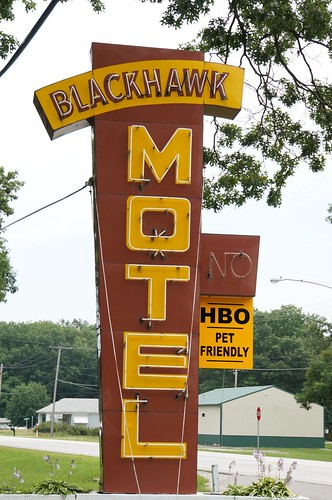 Blackhawk Motel - US 12, Michigan City, Indiana