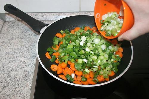 19 - Frühlingszwiebeln addieren / Add spring onions