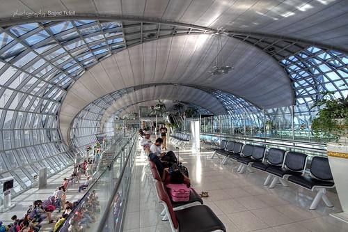 Suvarnabhumi Airport Bangkok. Thailand