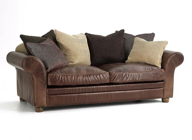 vintage round leather sofa flickr photo sharing