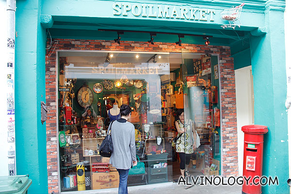 Spoilmarket which sells assorted trinkets and small gifts