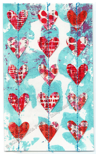 """Heart Garland"" ICAD : 7-5-13"