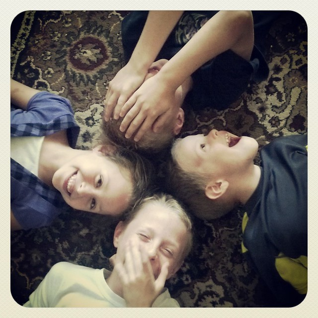 four crazy kids