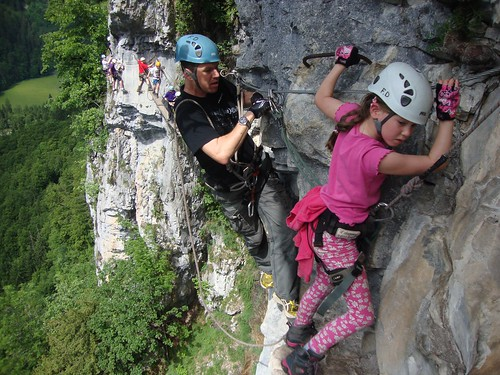 Via Ferrata - fun for the whole family