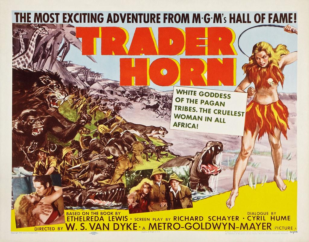 Trader Horn (MGM, 1931)  Jumbo Lobby Cards (2) (14