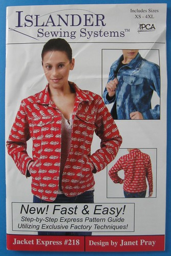 Jacket express pattern photo