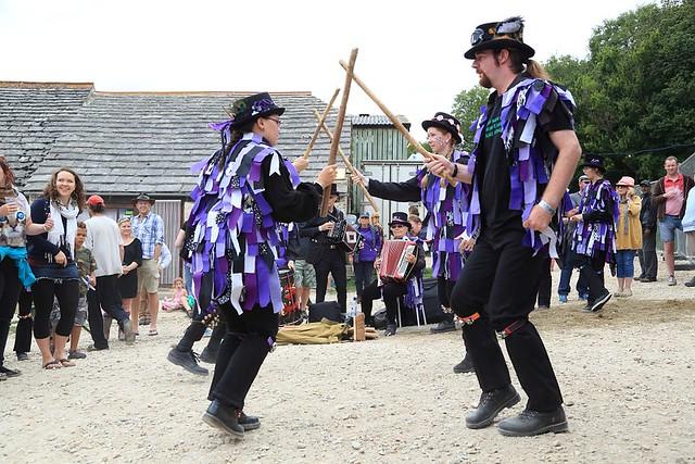 Anonymous Morris Dancing - Purbeck Folk Festival 2013