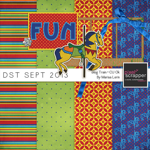 DST Sept 2013 Blog Train by Marisa Lerin
