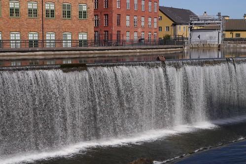 chair cityscape sweden industrilandskapet motalaström panasoniclumixdmcgx1 motalaström norrkö̈ping