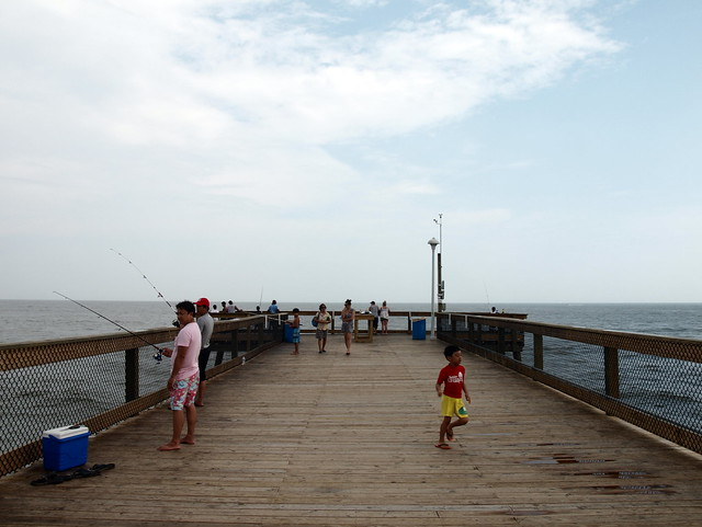 Ocean city beach 7 fishing pier flickr photo sharing for Maryland fishing piers