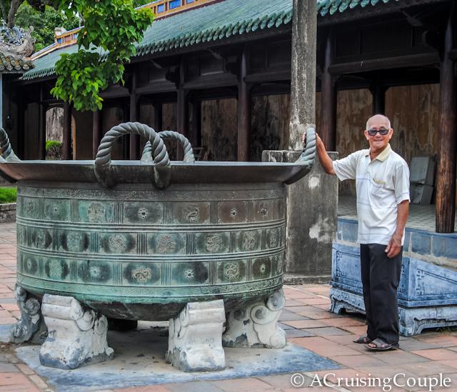 Citadel Well Hue Vietnam