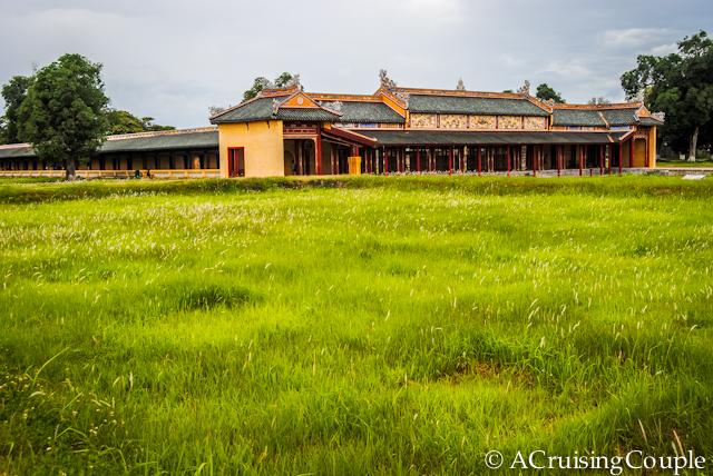 Citadel Hue Vietnam Building