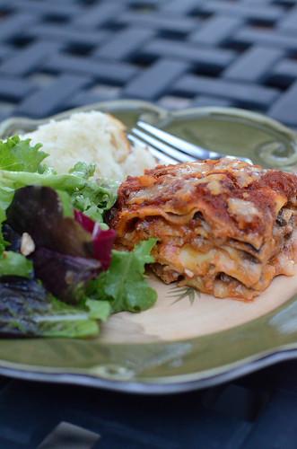 homemade frozen lasagna - from valerie's kitchen