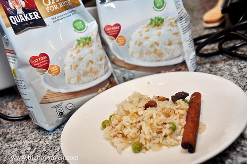 Quaker Oats for Rice 3