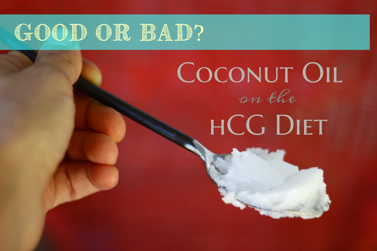 coconut-oil-hcg-diet-okay