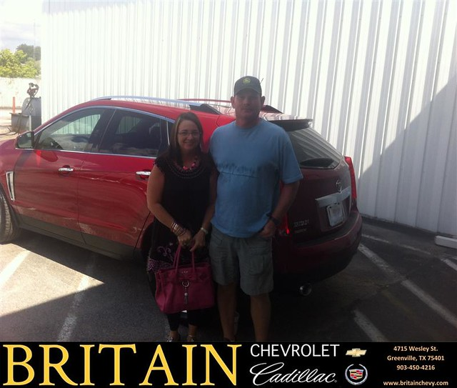 Thank You To Lois Boone On Your New 2013 #Cadillac #Srx