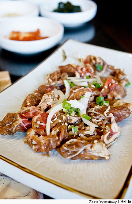 [台中韓式料理]澄川黃鶴洞-銅盤烤肉套餐最便宜可以搭配一些 ...