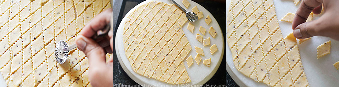 How to make savoury maida biscuits - Step3