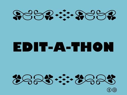 Buzzword Bingo: Edit-a-thon