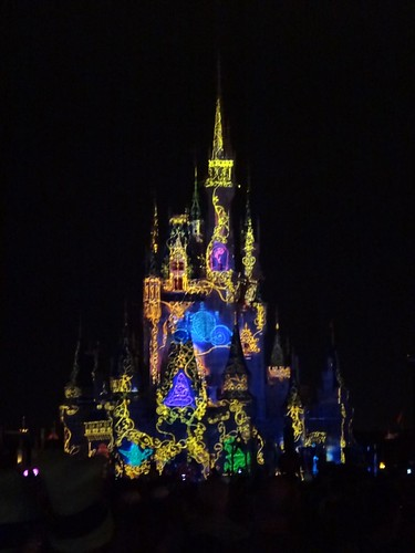 Castle Light Show 4