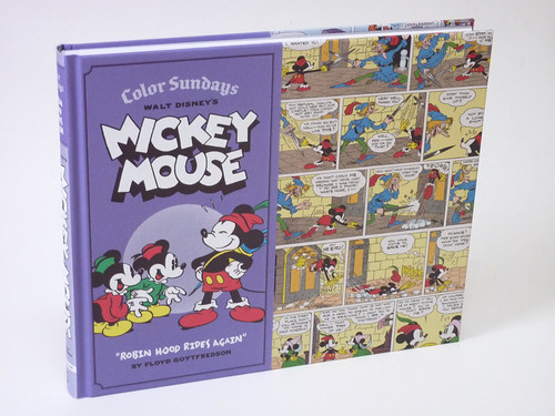 Walt Disney's Mickey Mouse Color Sundays Vol. 2: Robin Hood Rides Again cover photo
