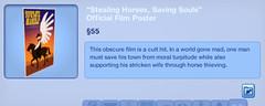 Stealing Horses Saving Sould Film Poster
