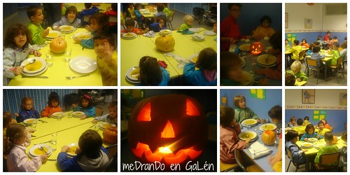NURSERY HALLOWEEN LUNCH