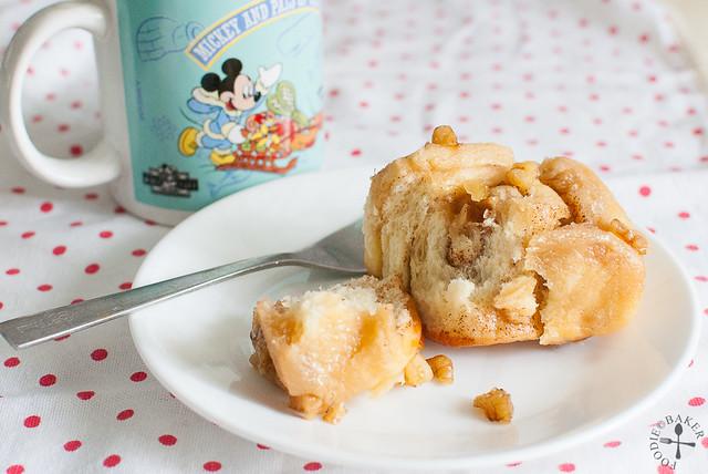 Sticky Caramel Pinwheel Bread