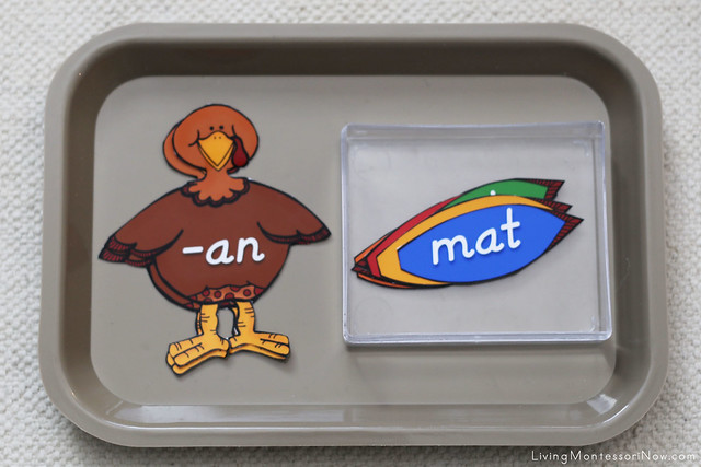 Build-a-Turkey Phonetic Reading Activity