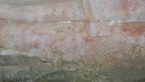 Red Hands Cave