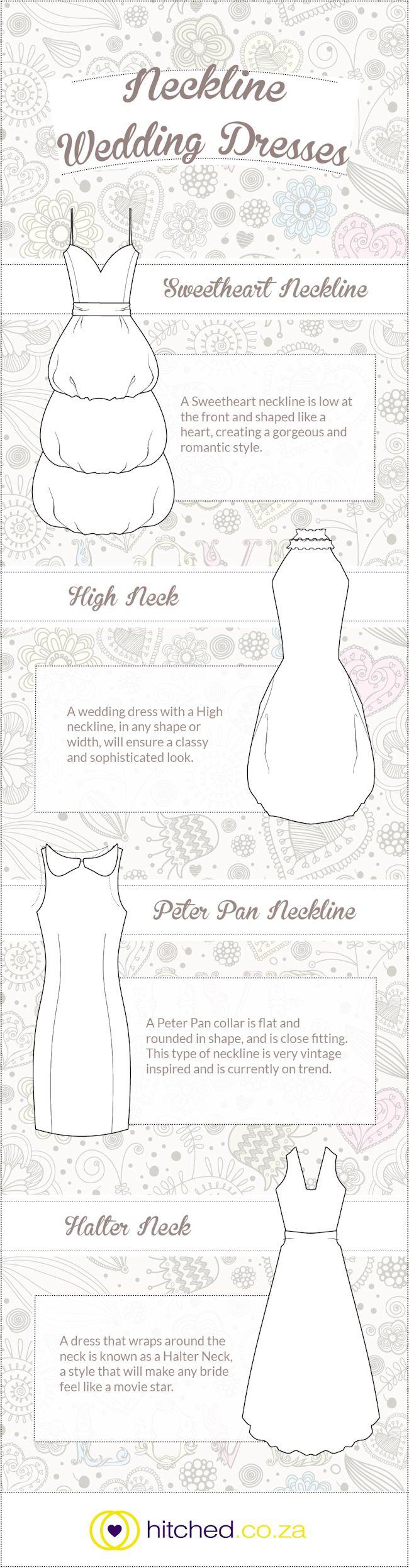 Bridesmaid dress neckline styles