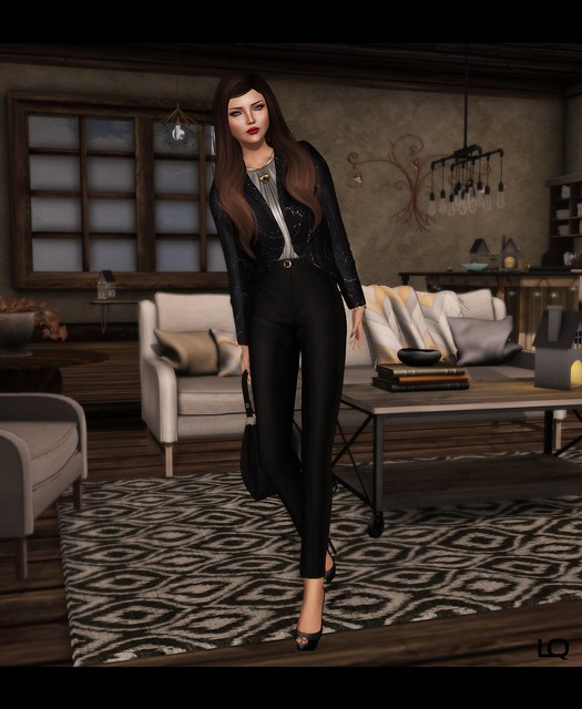 Baiastice_Fie blazer jacket & Emy high-waist pants
