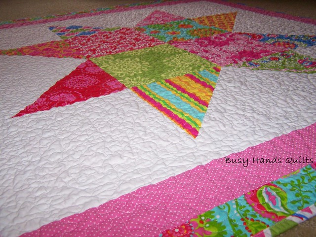 Busy Hands Quilts Ooh La La Starry Night Baby Quilt