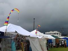 Rainy Harbour Market