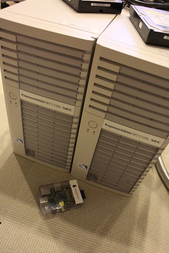 NEC Express5800とRaspberry Pi